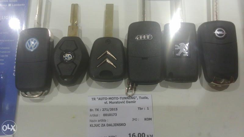 oklop ključa