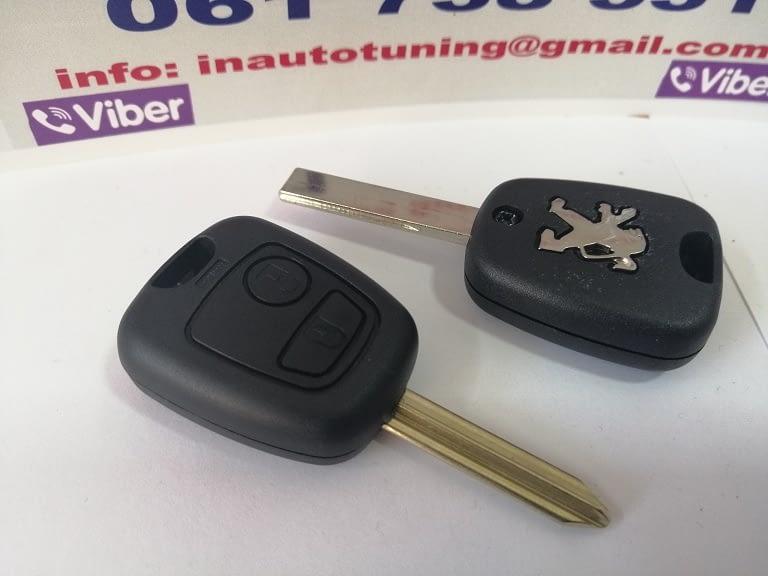 Oklop ključa Pežo