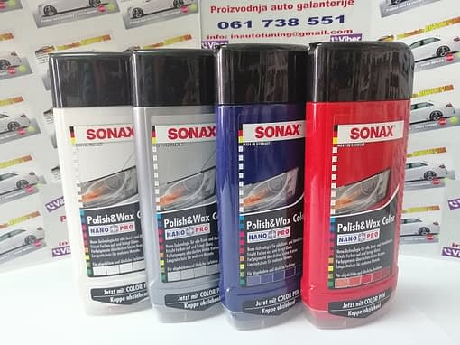 Sonax polir paste u bojama