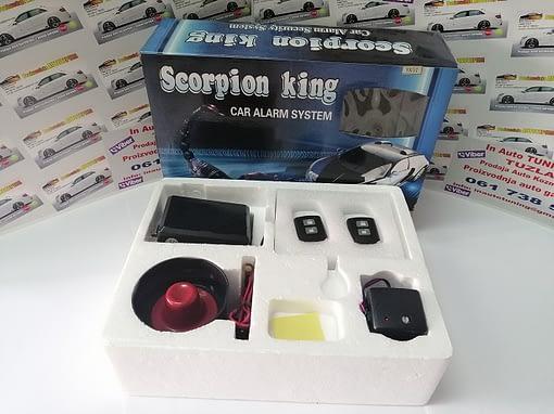 Alarmni uređaj Scorpion